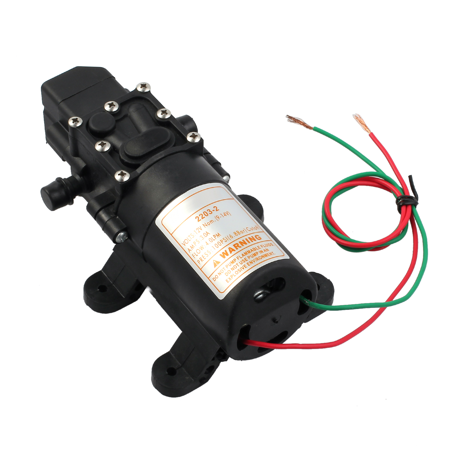 12v wasser pumpe druckwasserpumpe wasserpumpe trinkwasserpumpe automatik druck 711583415661 ebay. Black Bedroom Furniture Sets. Home Design Ideas