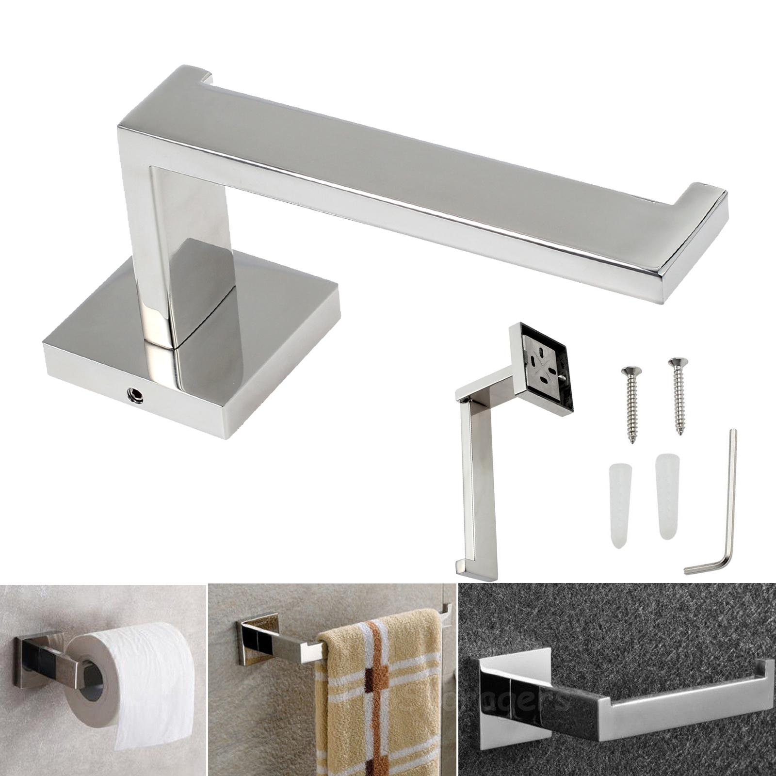 toilettenpapierhalter wand klorollenhalter klopapierhalter papierrollenhalter de ebay. Black Bedroom Furniture Sets. Home Design Ideas
