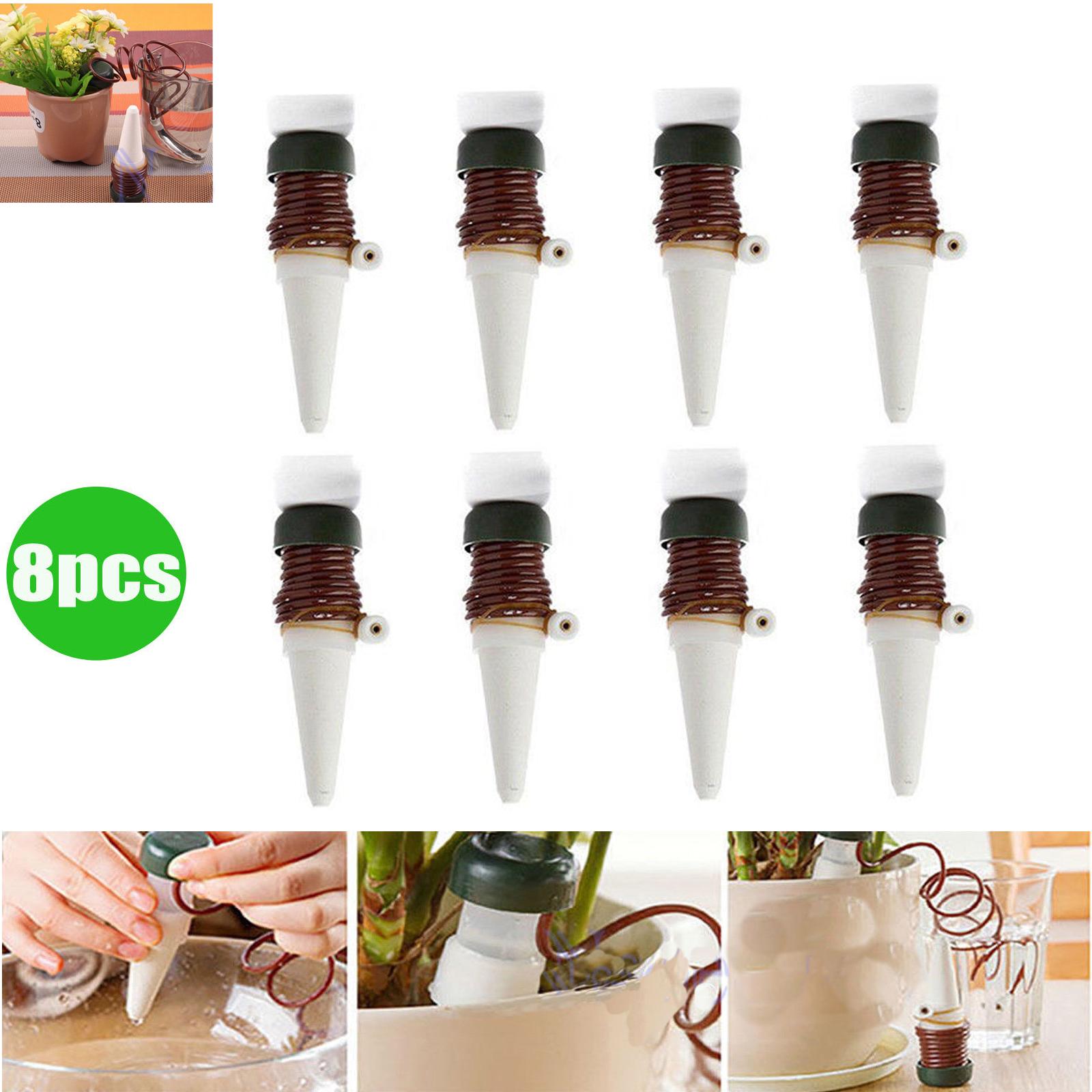 Set 8x automatisch bew sserung blumen pflanzen for Wasserspender fur pflanzen