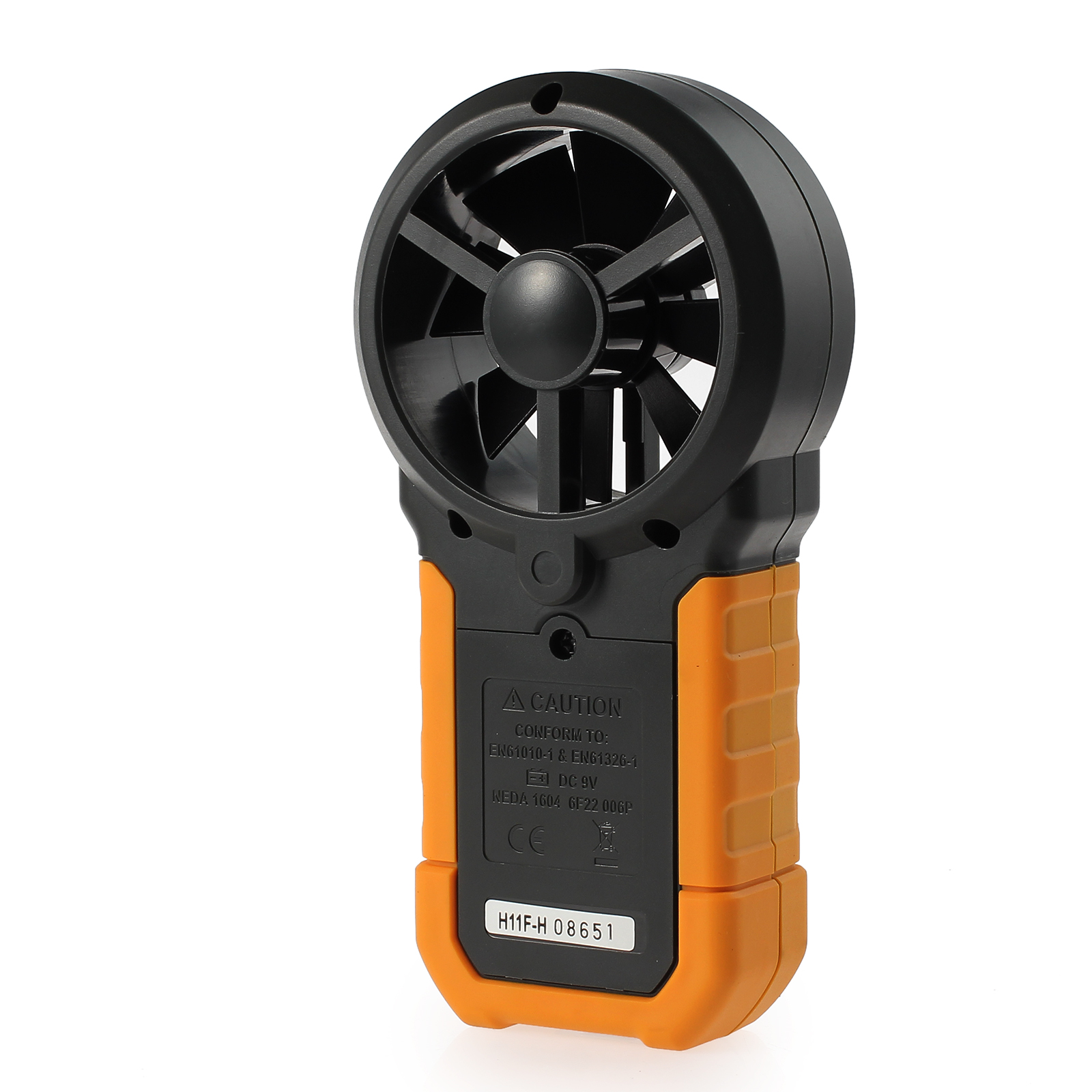 Wind Speed Meter : Lcd digital hyelec ms a anemometer wind speed meter air