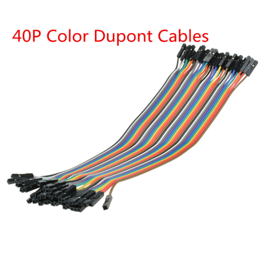 NEW 80pcs Dupont wire cables 1p-1p pin connector 2.54mm 20cm Female for arduino
