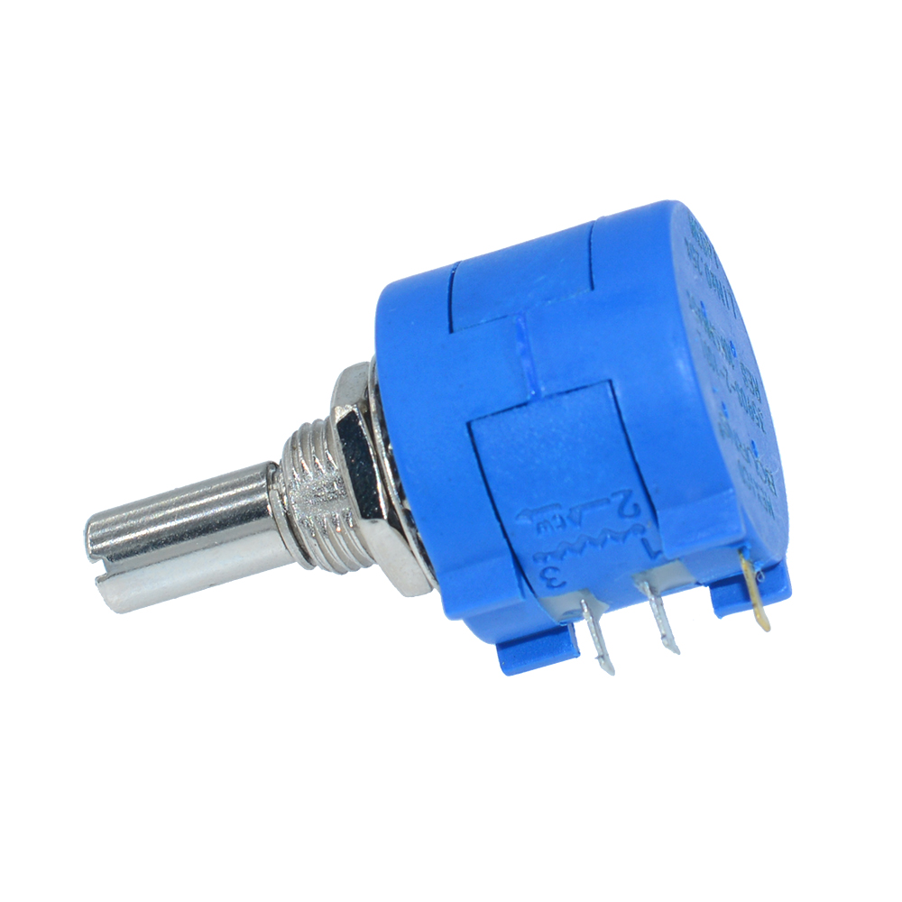 3590S-2-103L 10K Ohm 2W Multi Turn Wirewound Potentiometer With 10 Turns Countin