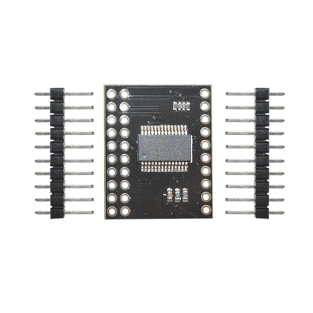 bidirectional 16 bit i o expander with i2c iic serial interface