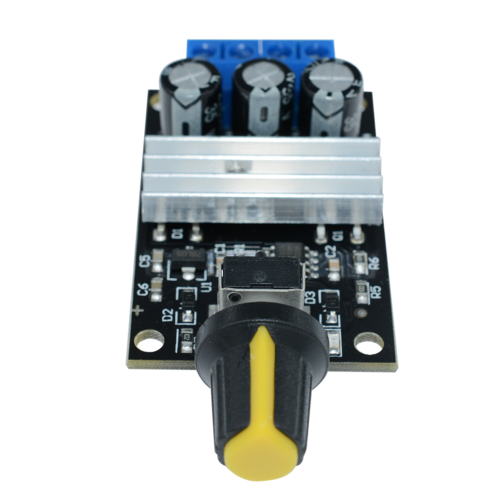 Pwm Dc 6v 12v 24v 28v 3a Motor Speed Control Switch Controller Ebay Is A Circuit To Uses Pulse Width Modulation This Allows Controlling The Direction Of Using Modulated Voltage With Duty Cycle Fully