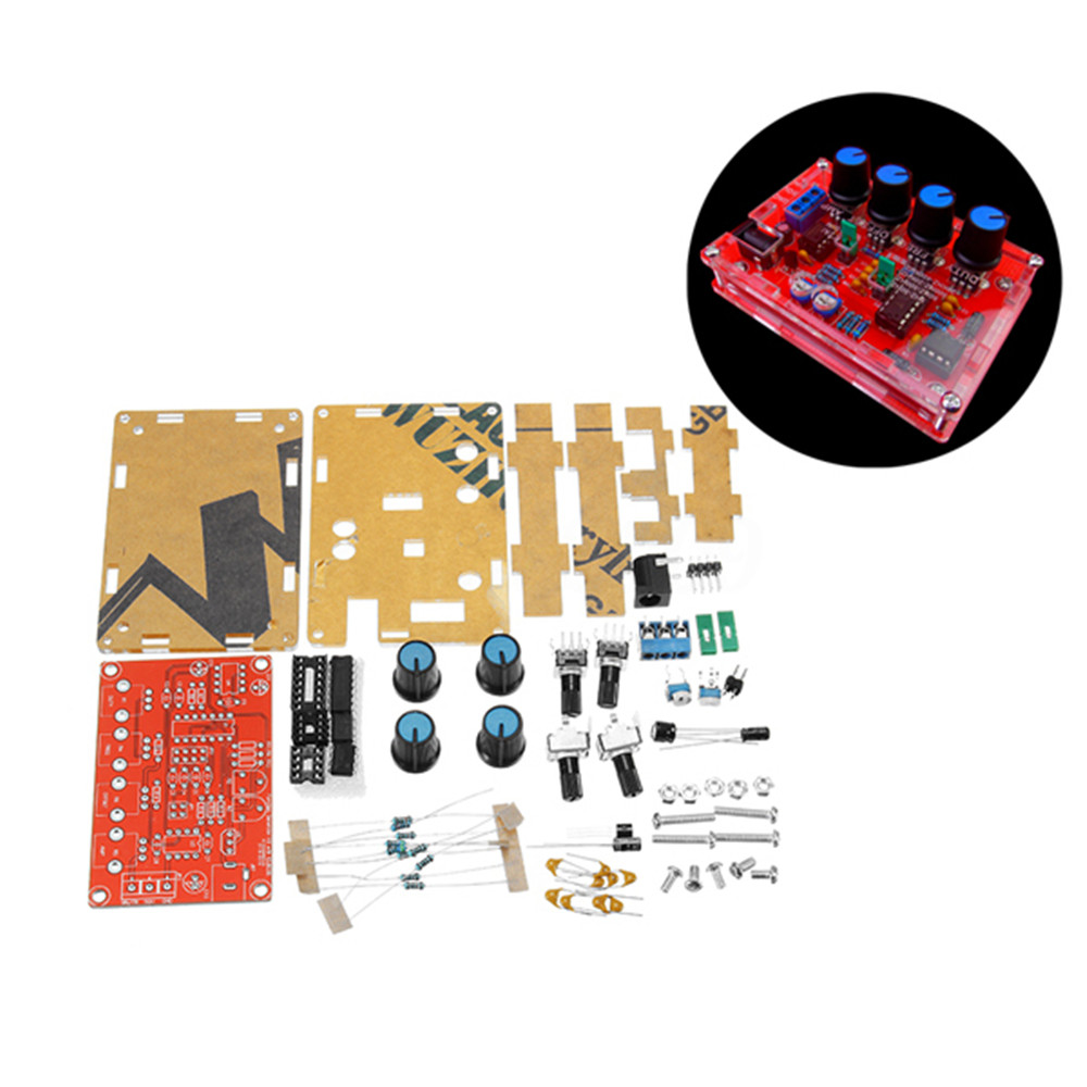 Diy Icl8038 Dc 12v 5hz400khz Function Signal Generator Sine Component Circuit The Composed Using High Speed Op Amp Of By Following Characteristics 1 Can Output Triangular Wave Rectangular And