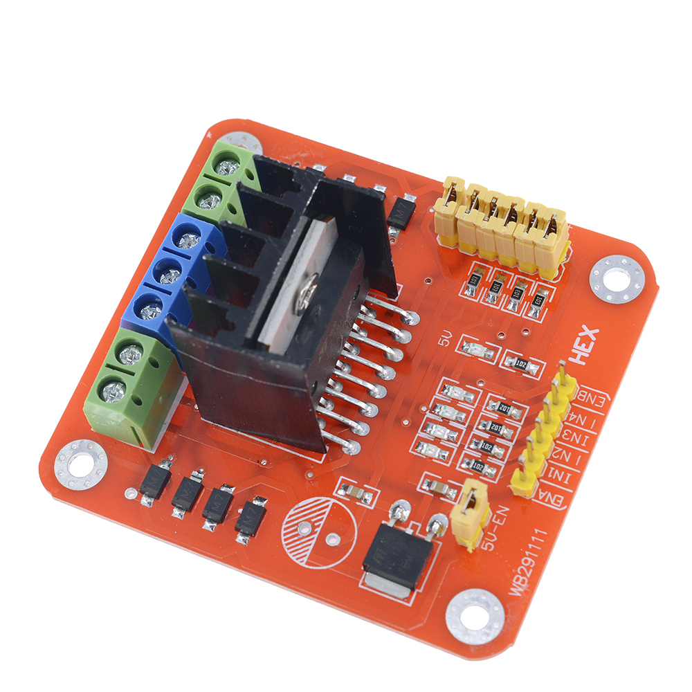 L298n Dc Motor Driver Module For Arduino Pic Avr Robot Board Speed Control Circuit With Pic12f1822 Microcontroller