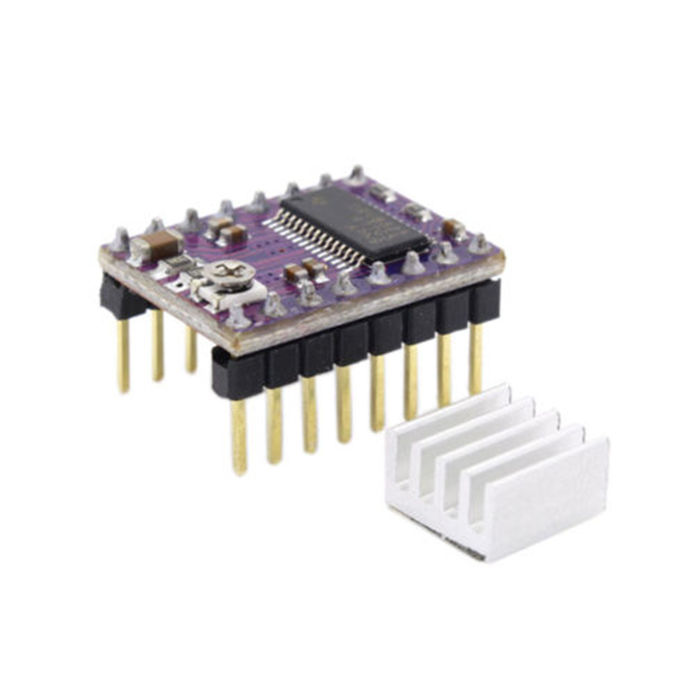 Drv8825 Stepper Motor Driver Module 3d Printer Ramps14 Reprap Ramps 1 4 Wiring Diagram All Image About Stepstick The Carrier Is A Breakout Board For Tis Microstepping Bipolar