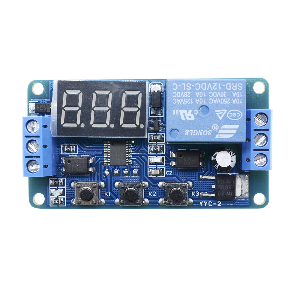 12v Led Automation Delay Timer Control Switch Relay Module Without 28 Clock Circuit Case