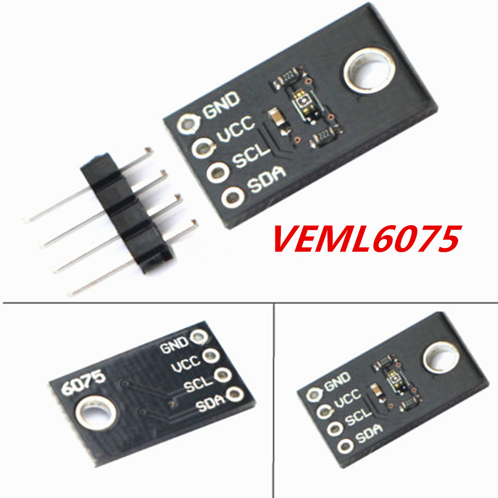 I2C UVA UVB VEML6075 Solar Ultraviolet Light Intensity Sensor Detection Module