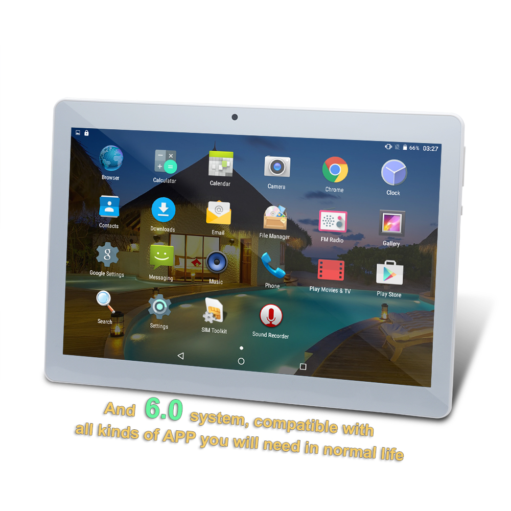 10 1 tablet pc 4g 64g android 6 0 octa core dual sim. Black Bedroom Furniture Sets. Home Design Ideas