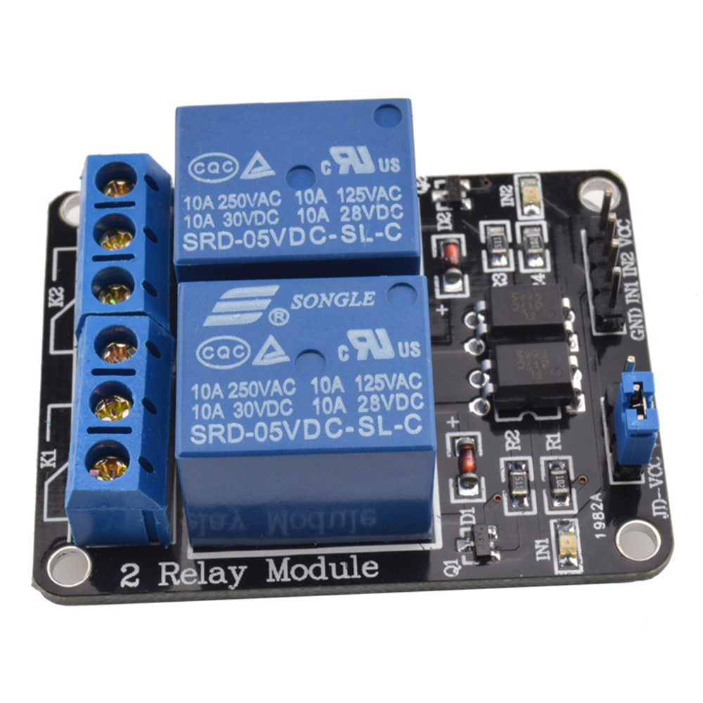 5v Two 2 Channel Relay Module With Optocoupler For Pic Avr Dsp Arm Arduino Wiring Further Board As Well