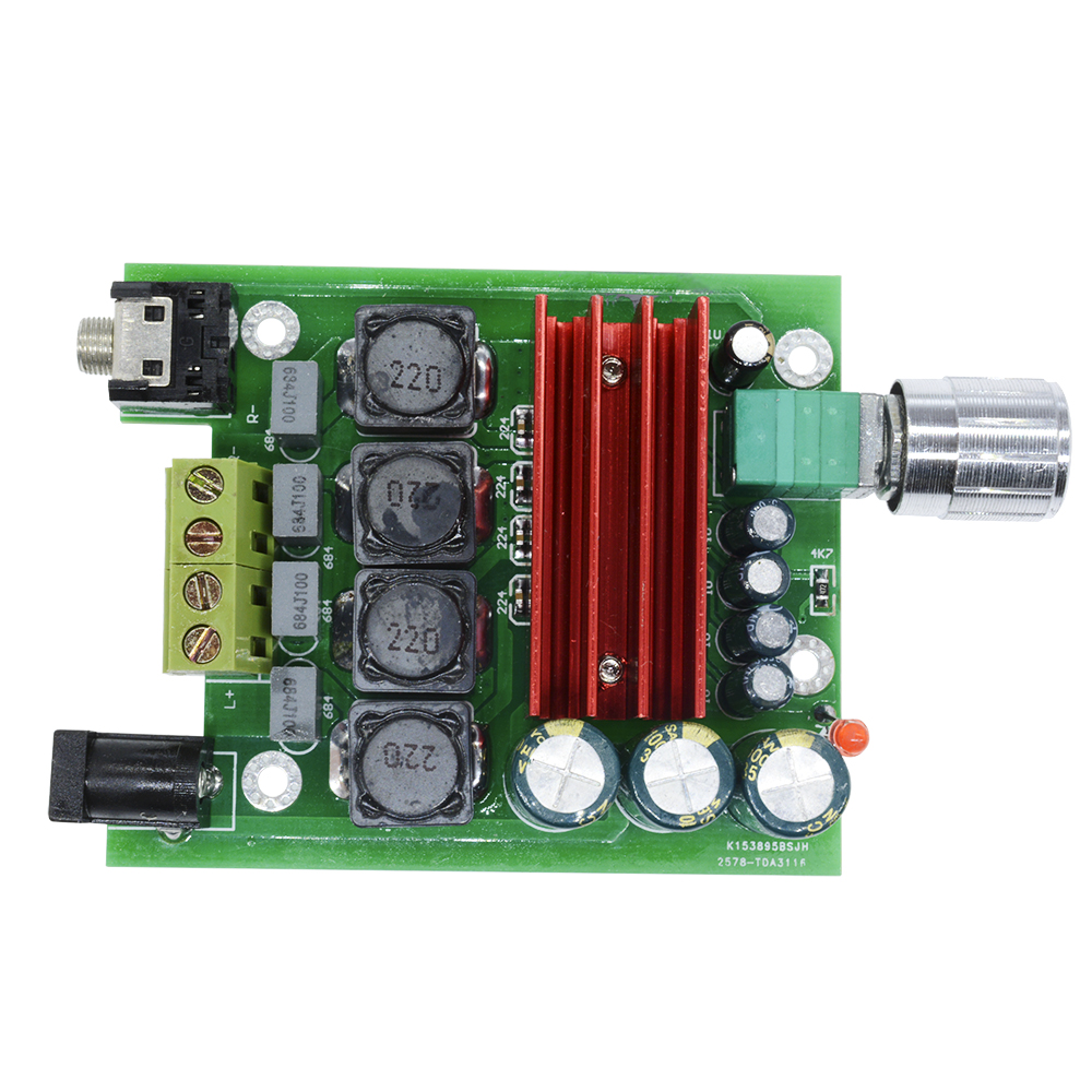 Tpa3116d2 100w Digital Amplifier Board Subwoofer Ne5532 Amp 8 25v How To Build Power 60w Range 25 V Connector Is A Standard 55 Mm Jack And Most Of The Same Notebook Can Make