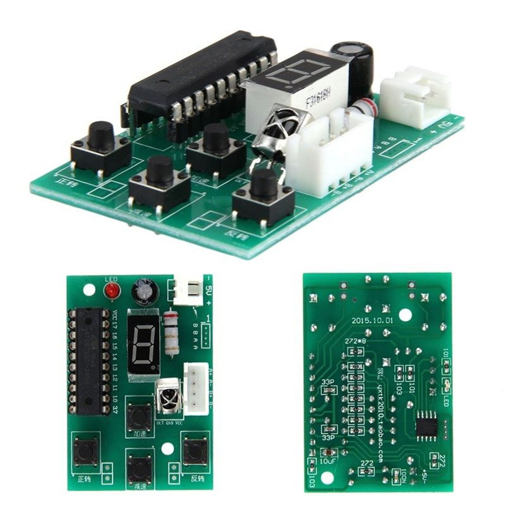 Stepper Motor Driver 2-Stage 4-Wire Adjustable Speed Controller ...