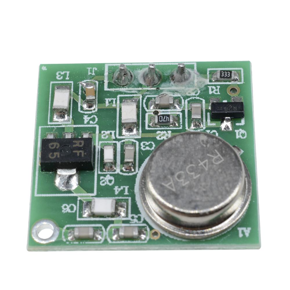 Dc 9v 12v Wireless Fm Transmitter Board Zf 4 43392mhz P Module Diy Three Stage