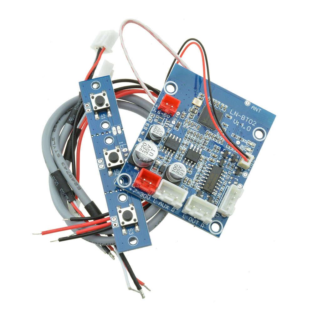 Bluetooth 4.0 Audio Receiver Board Stereo Sound Module For
