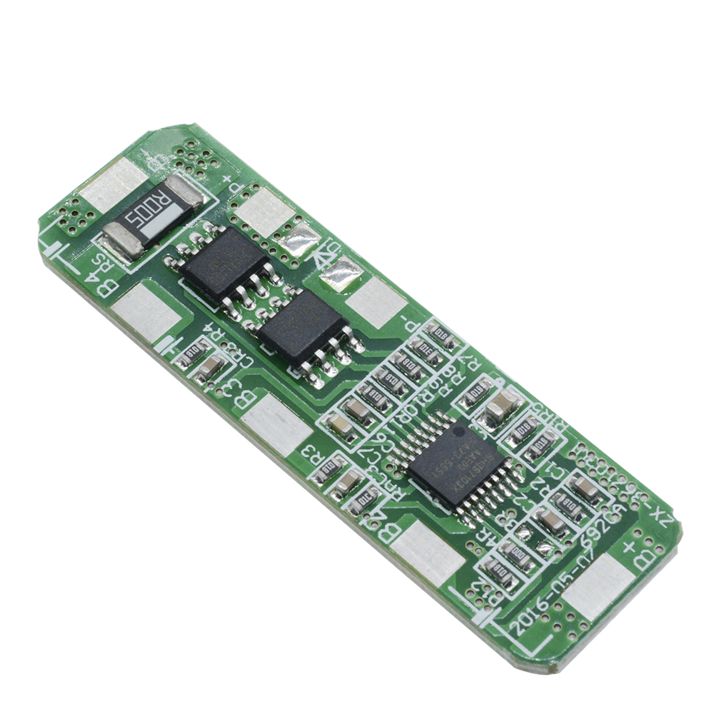 4a 5a 4s Pcb Bms Protection Board For 4 Packs 18650 Li Ion Lithium Module Battery Charging Boardin Integrated Circuits Cell
