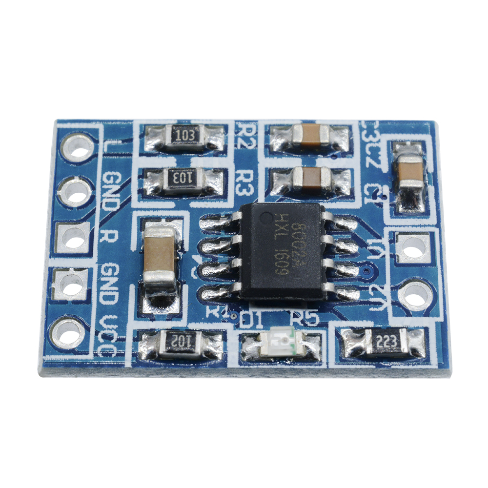 Mini Digital Amplifier Board Class D 23w Usb Power Pam8403 Audio Hifi 5v Stereo 2 Channel 3w Source
