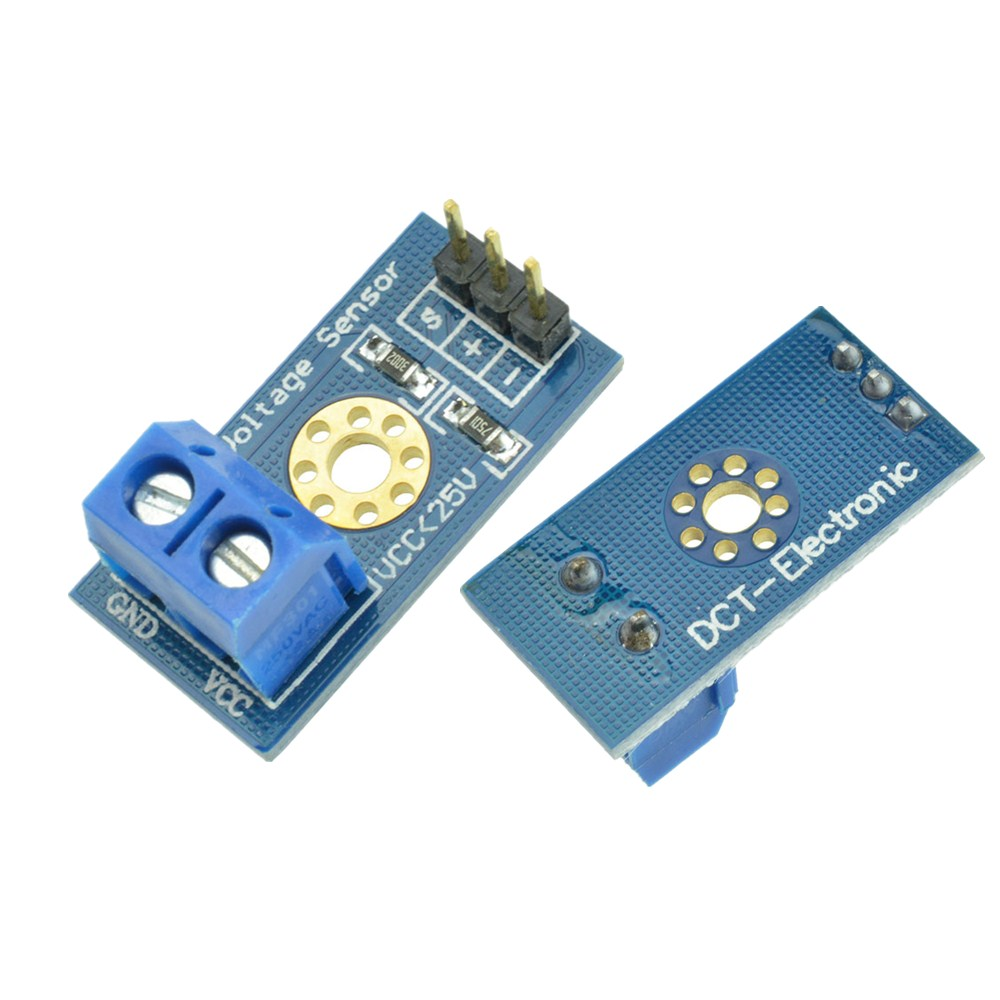 Details about Standard Voltage Sensor Module DC0-25 V For Robot Arduino