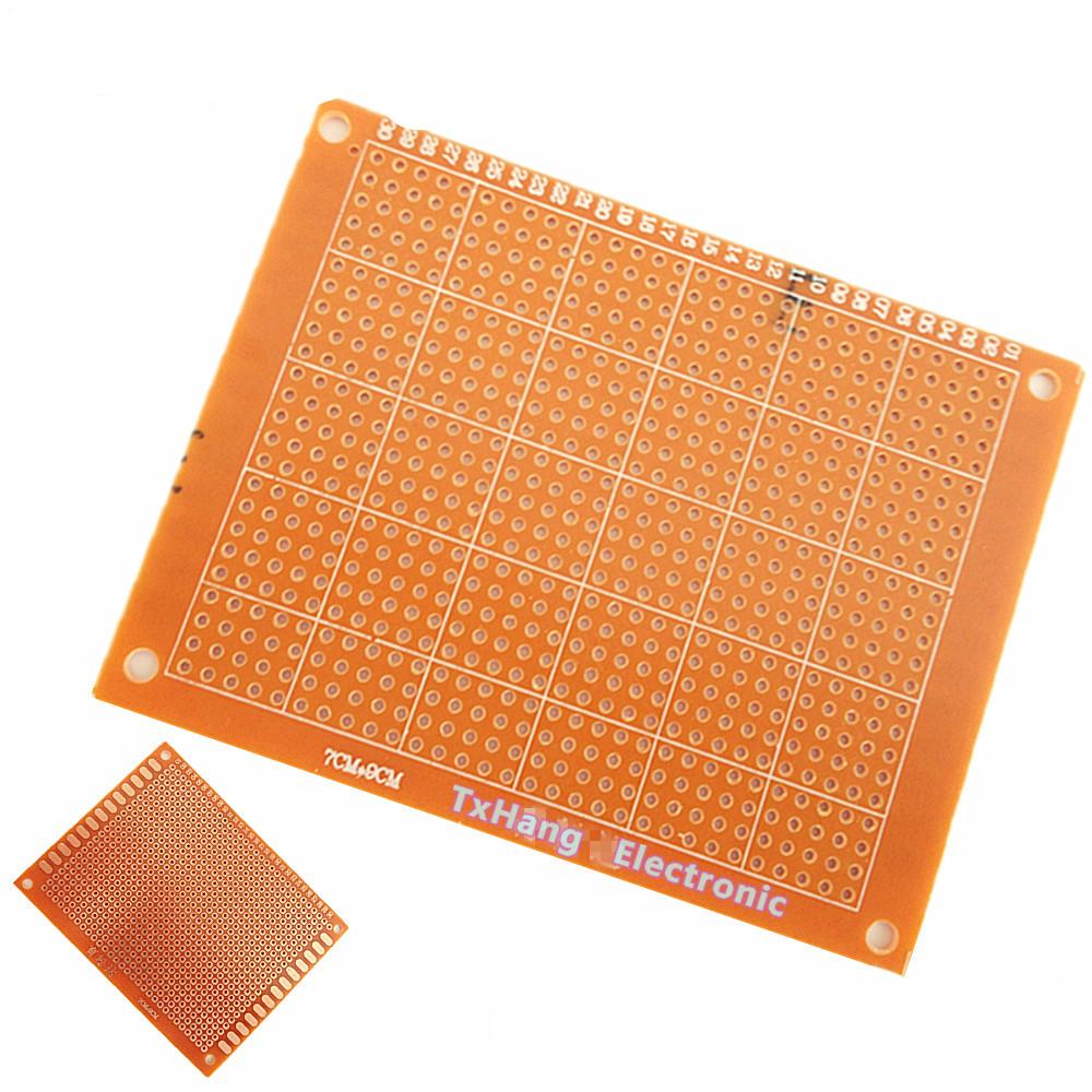 100Pcs 5 x 7 cm DIY Prototype Paper PCB fr4 Universal Board prototyping pcb kit