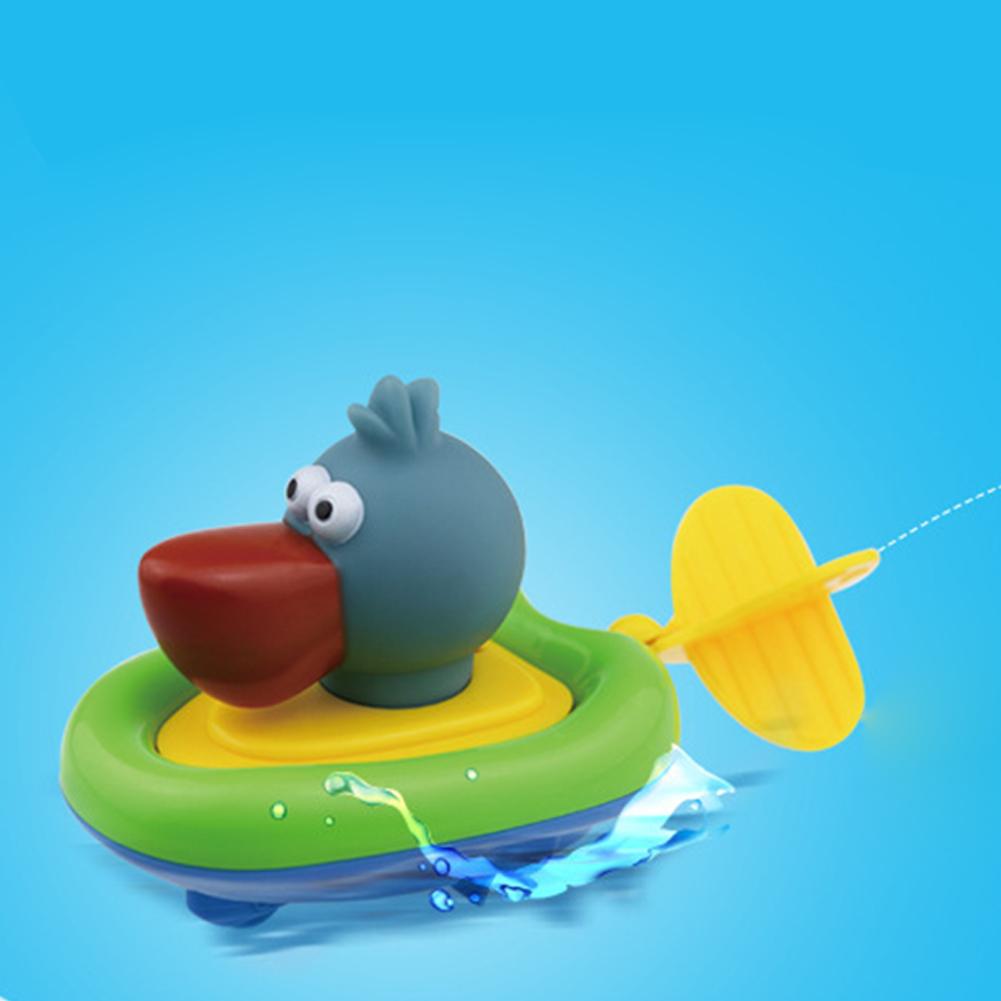 1Pc Cute Pull String Duck Crocodile Pelican Boat Swimming Bathtime ...