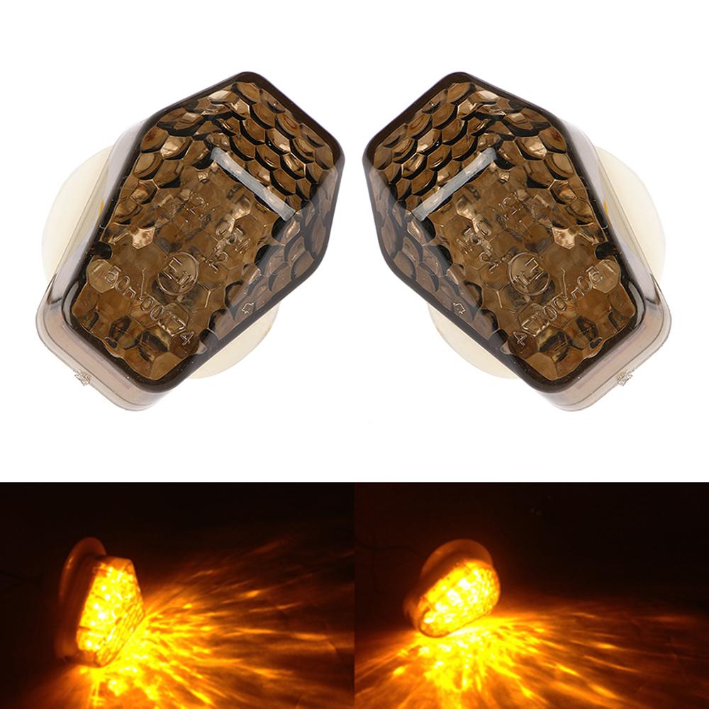 2x Motorrad LED Verkleidungsblinker für Yamaha R1 R6 R6S FZ1 FZ6 E-Geprüft Licht
