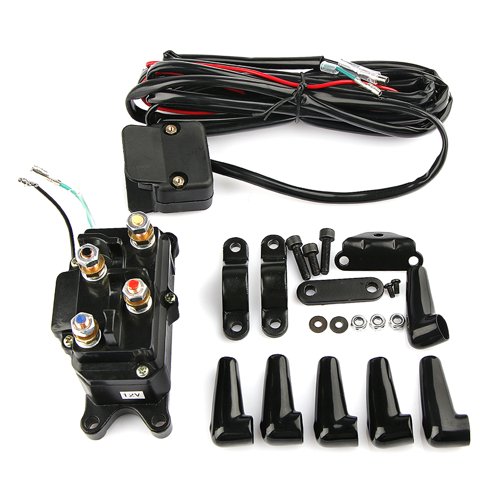 Winches Solenoid Relay Contactor  For ATV UTV Polaris