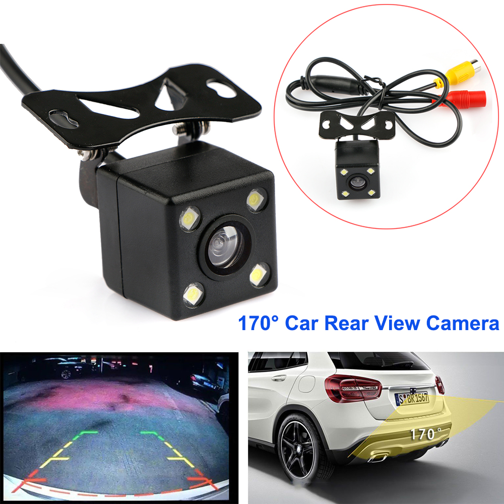 Parking Assistance Car Rear View Camera CCD LED Backup With 170 degree Range