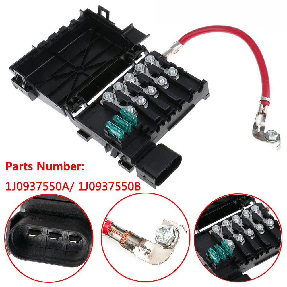 Details about Fuse Box Battery Terminal for VW Golf MK4 Bora Jetta on