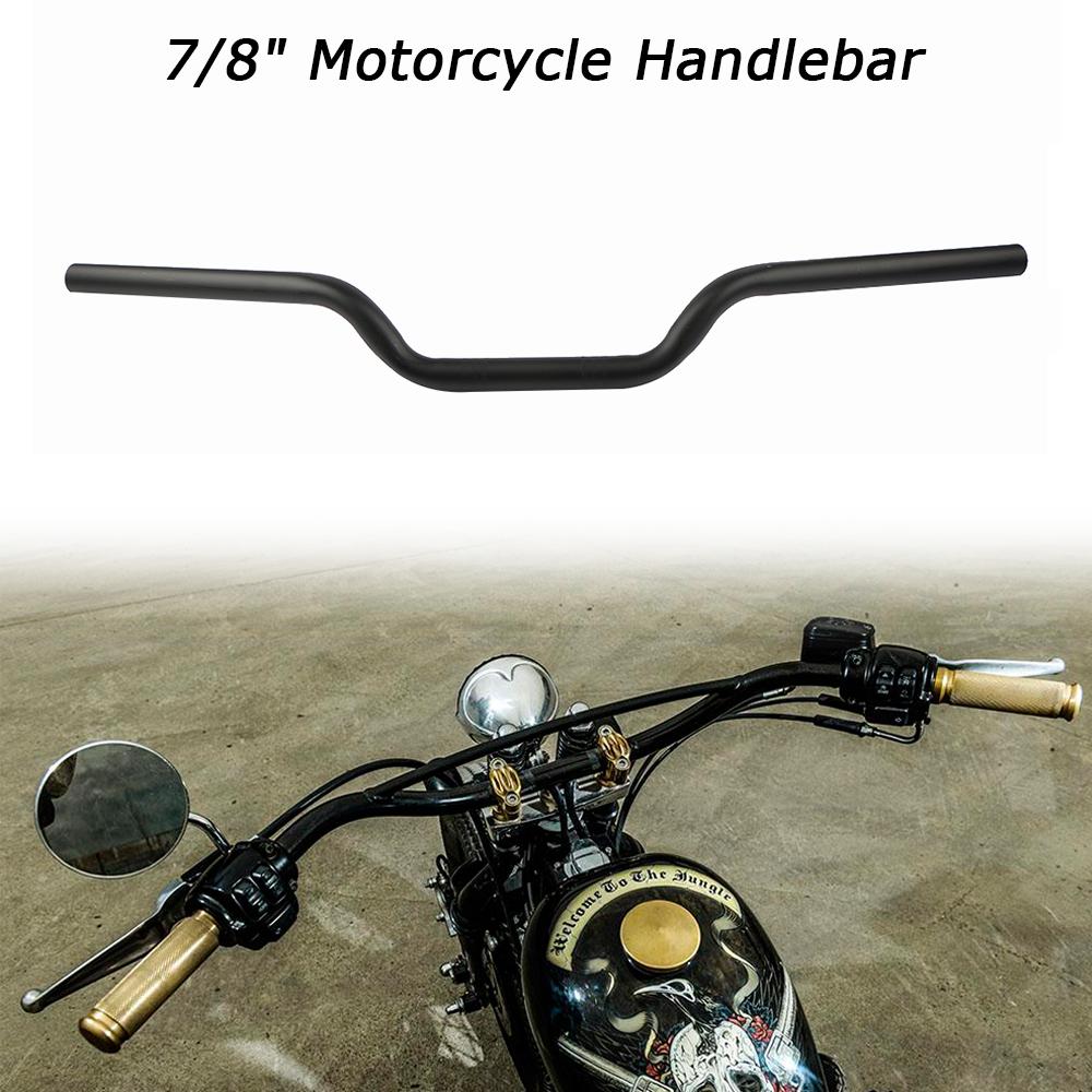 "1/"" Z Motorrad Lenker Handlebar Für Honda Yamaha Kawasaki Suzuki Chopper Bobber"