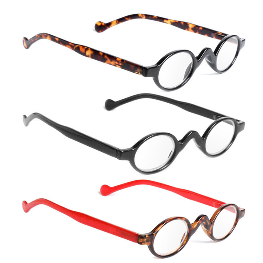 4fca72f1610 Details about Retro Reading Glasses Classic Vintage Style Small Round Frame  Men Women Readers