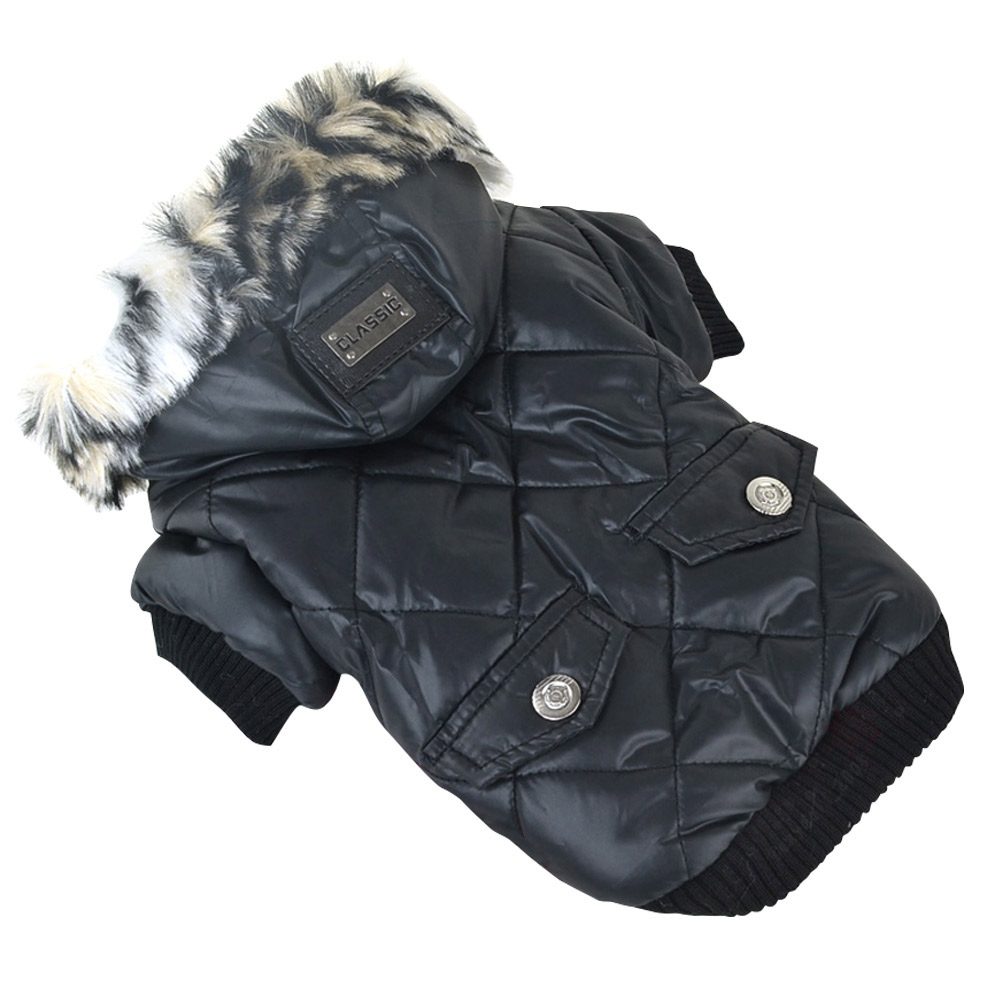 5 sizes Pet Small Dog Puppy Waterproof Coat Jacket Hoodie Thick Apparel Clothes 20
