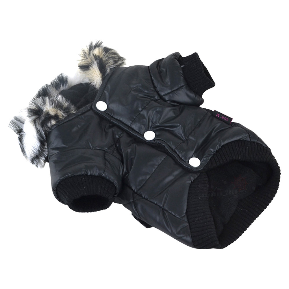 5 sizes Pet Small Dog Puppy Waterproof Coat Jacket Hoodie Thick Apparel Clothes 21