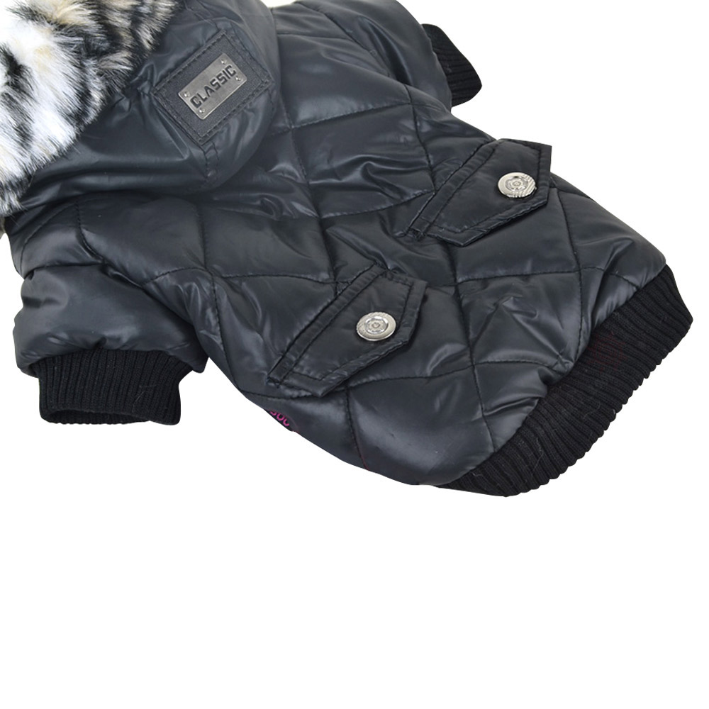 5 sizes Pet Small Dog Puppy Waterproof Coat Jacket Hoodie Thick Apparel Clothes 19