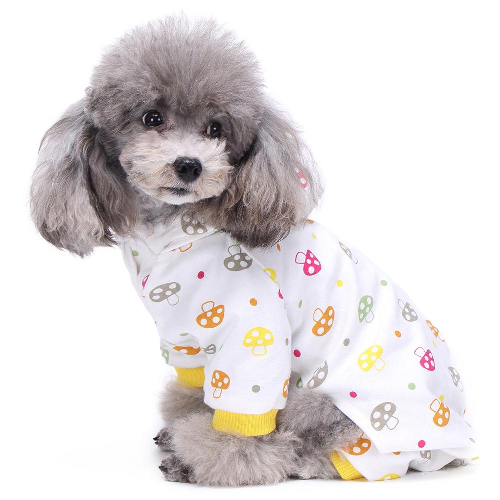 Dog Cat Puppy Cotton Warm Clothes Coat Pet Apparel Jumpsuit Pajamas  Hoodies NEW 12