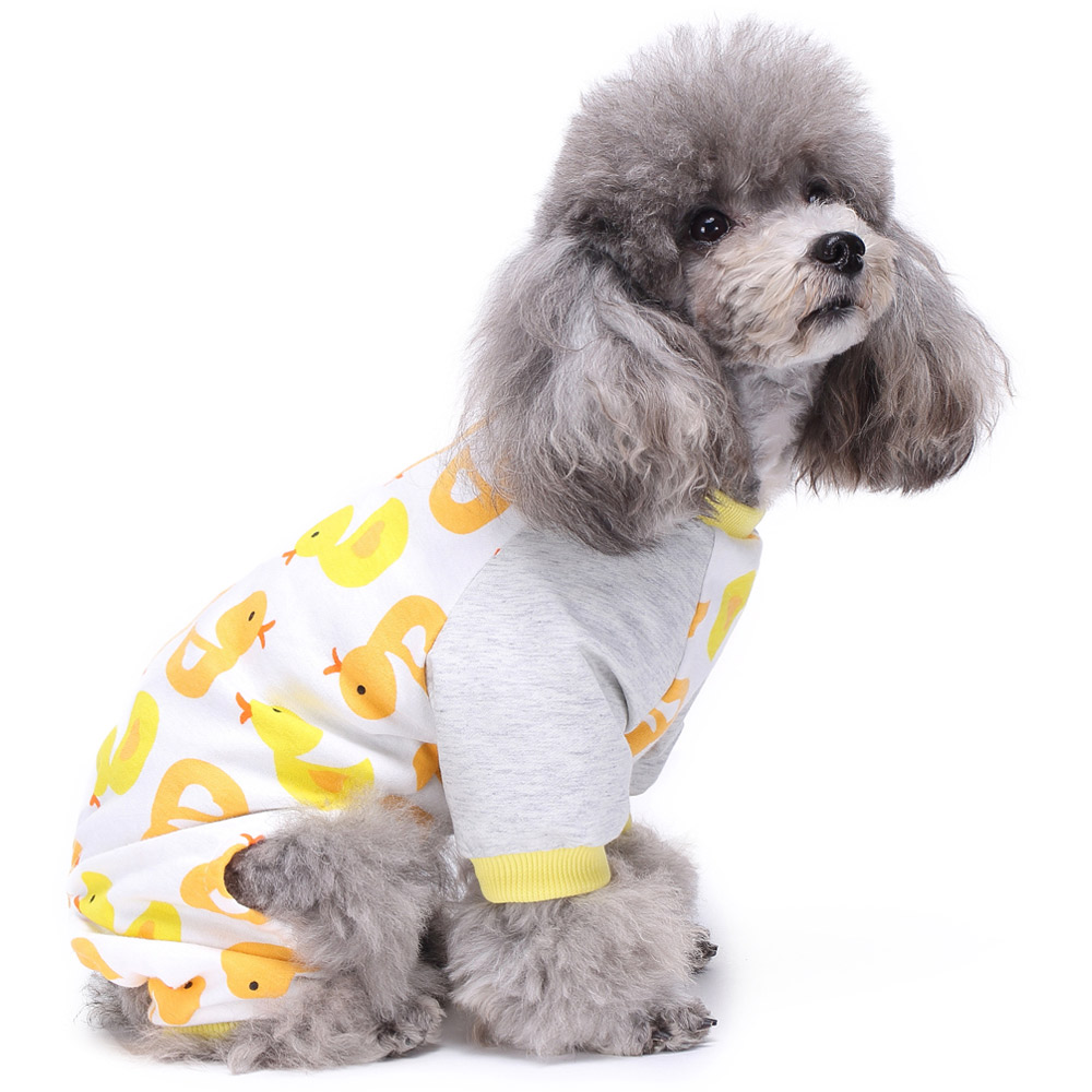 Dog Cat Puppy Cotton Warm Clothes Coat Pet Apparel Jumpsuit Pajamas  Hoodies NEW 21