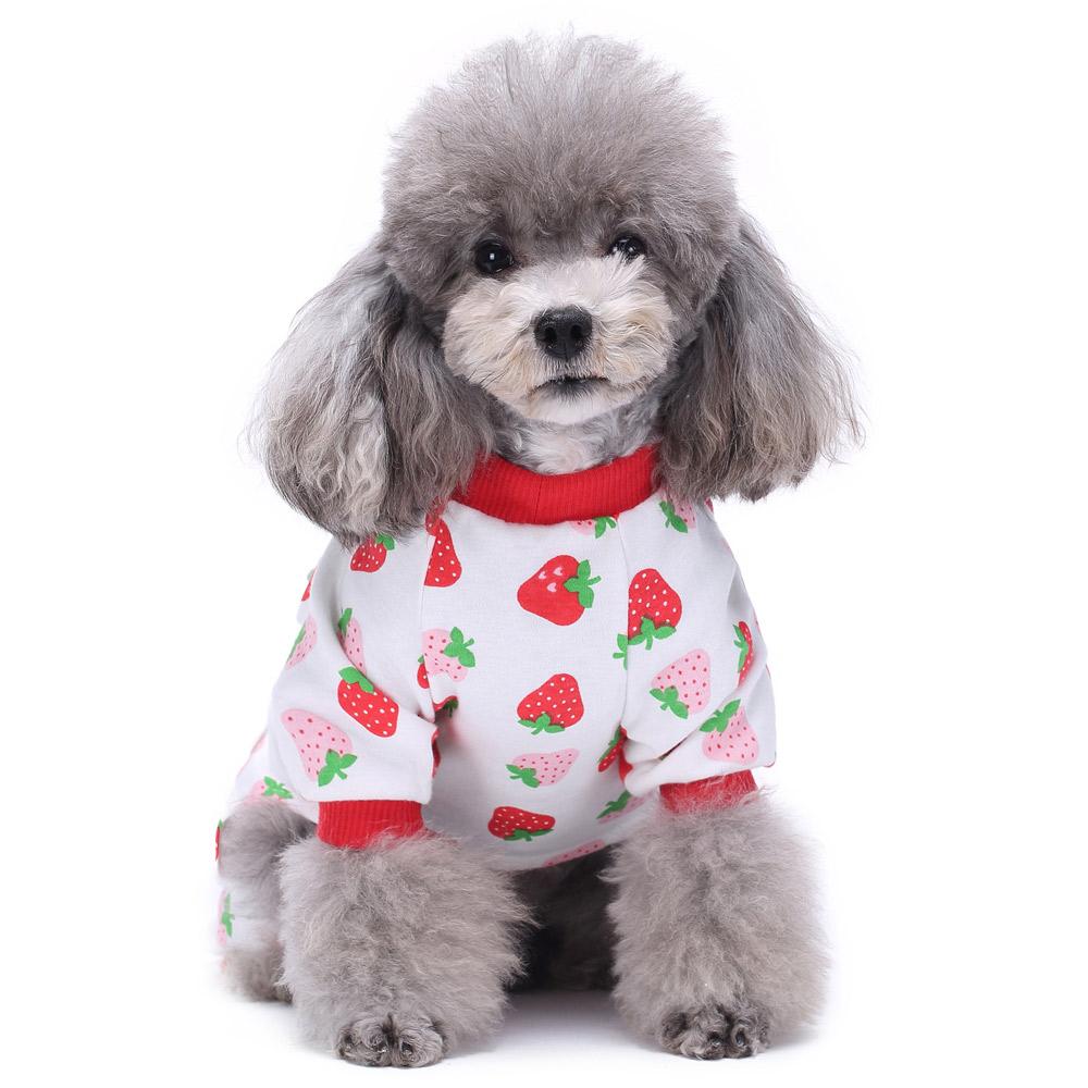 Dog Cat Puppy Cotton Warm Clothes Coat Pet Apparel Jumpsuit Pajamas  Hoodies NEW 18