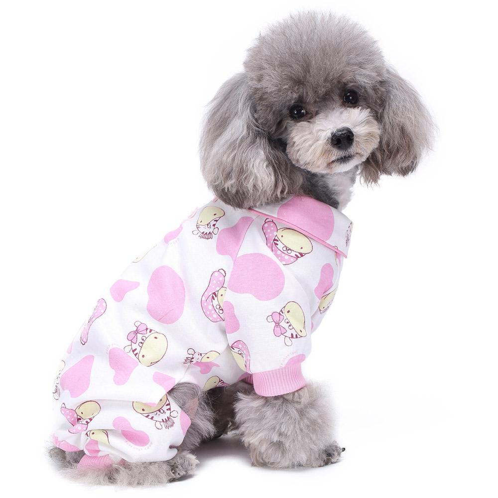 Dog Cat Puppy Cotton Warm Clothes Coat Pet Apparel Jumpsuit Pajamas  Hoodies NEW 19
