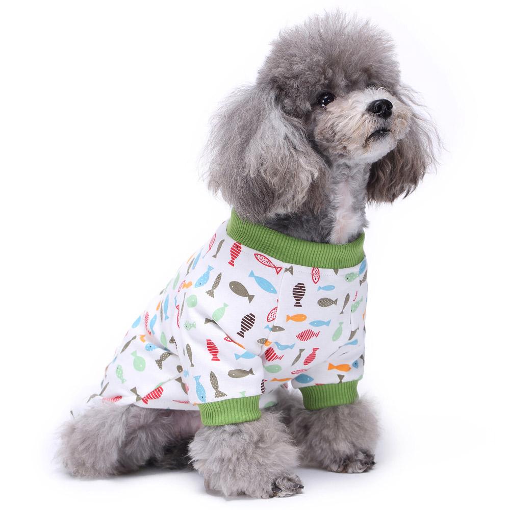 Dog Cat Puppy Cotton Warm Clothes Coat Pet Apparel Jumpsuit Pajamas  Hoodies NEW 20