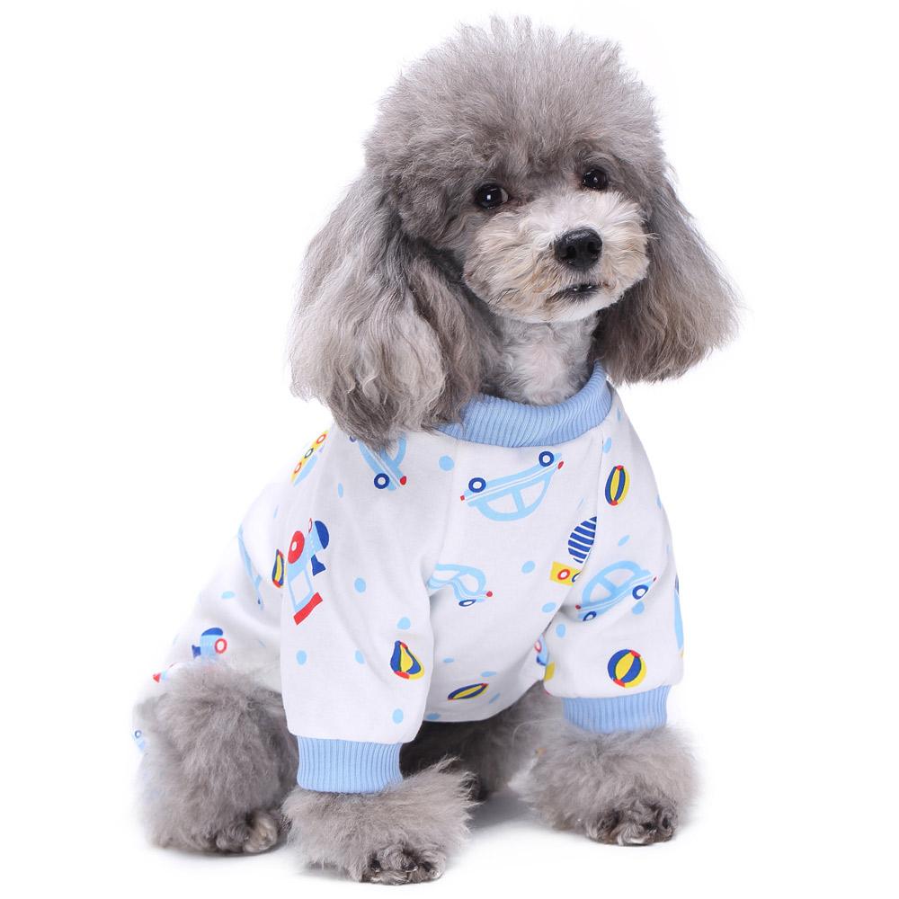 Dog Cat Puppy Cotton Warm Clothes Coat Pet Apparel Jumpsuit Pajamas  Hoodies NEW 17