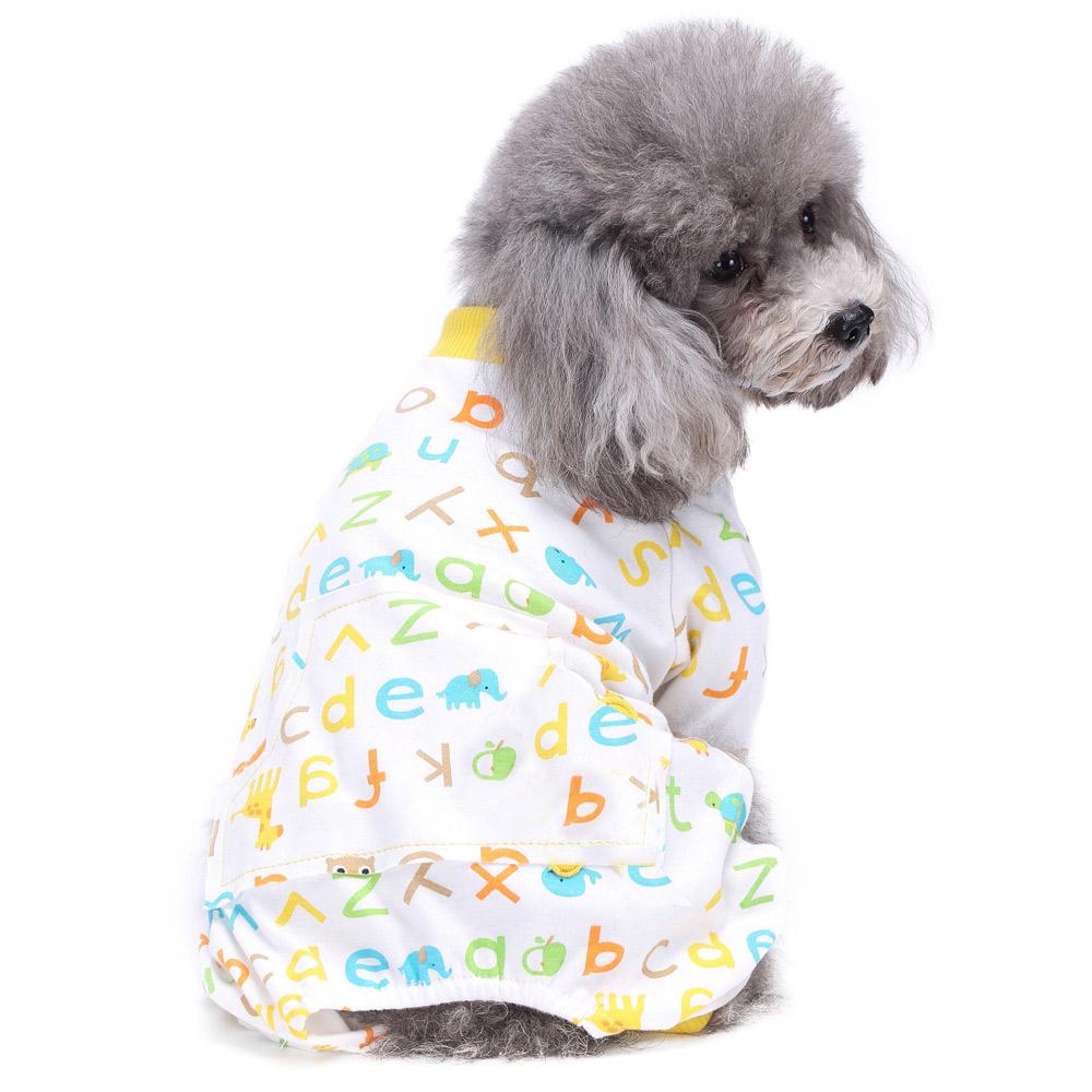 Dog Cat Puppy Cotton Warm Clothes Coat Pet Apparel Jumpsuit Pajamas  Hoodies NEW 13