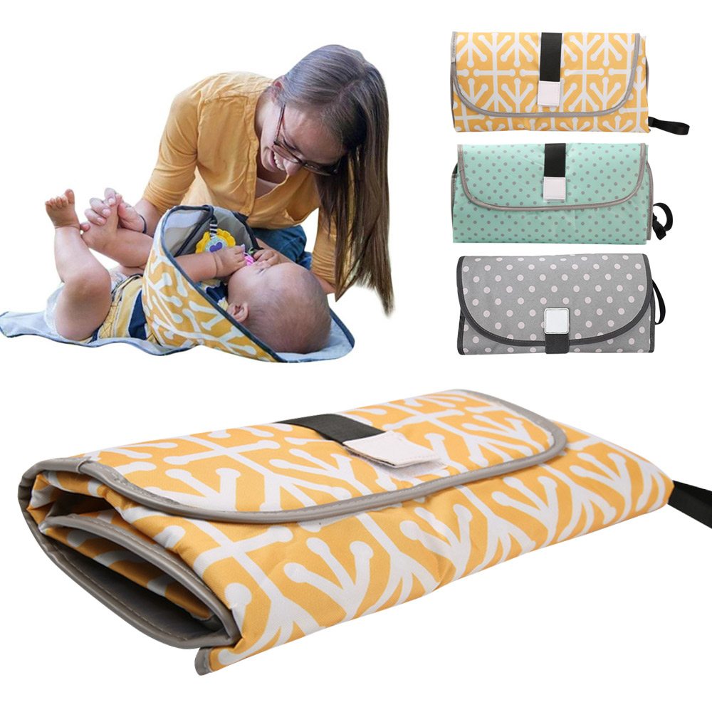 Waterproof Baby Diaper Changing Mat Travel Home Change Pad
