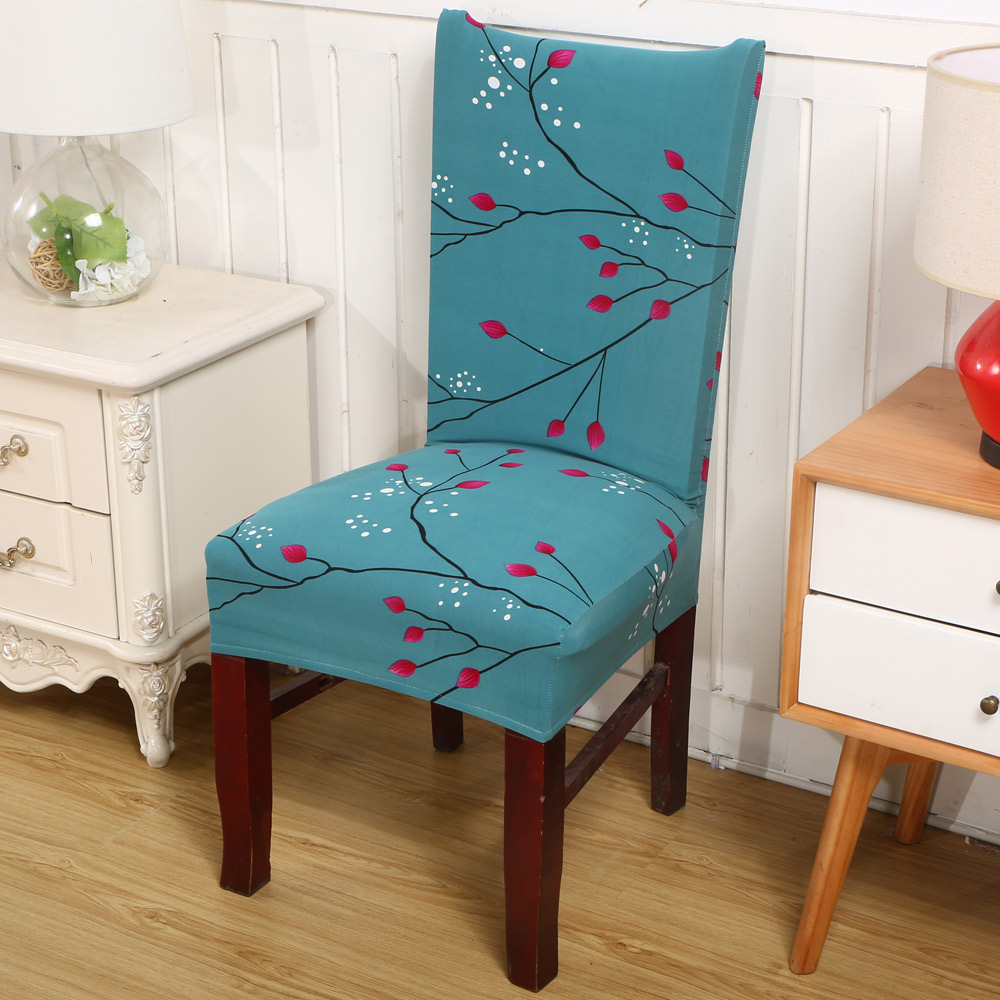 dining room chair back covers | Printed Covers Protectors High Back Stetch Slipcovers ...