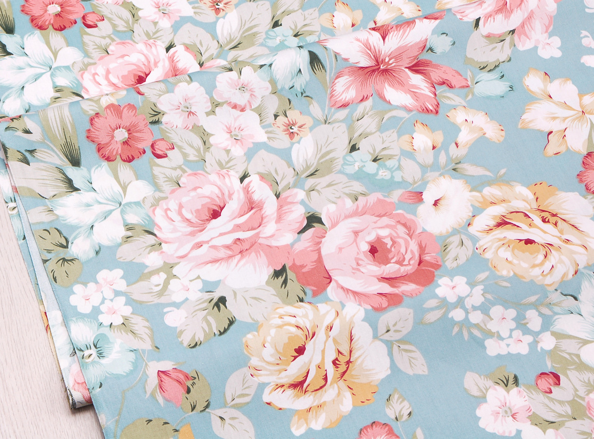 Apparel Fabric Dark Vintage Roses Fabric Textile T20 Printed Fabric Fabric by the metre Cotton Fabric Fabric by the yard
