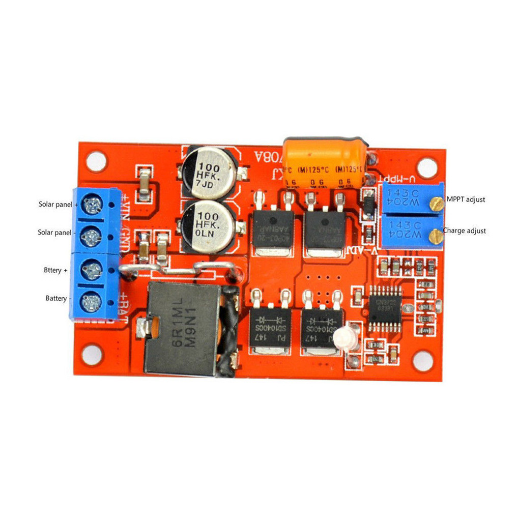 5a Mppt Solar Panel Regulator Controller Battery Charging