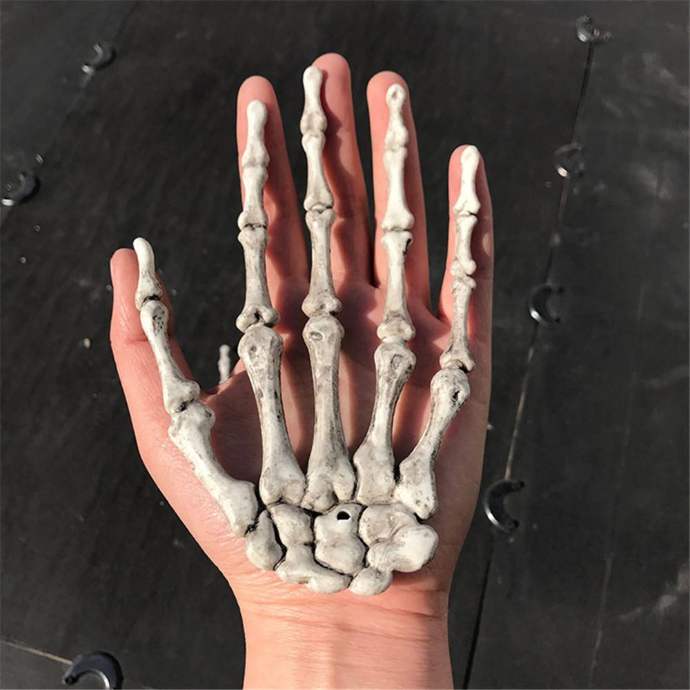 Halloween Kunststoff Geist Skelett Hand Knochen Handwerk Dekor Party ...