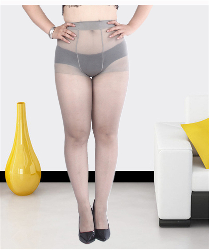 Fit to 250 pounds 1 pair Women/'s Plus Size Hosiery Pantyhose Tights Stockings