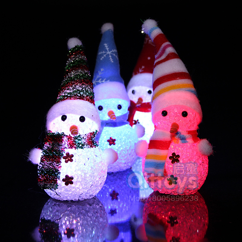 Lighted Holographic Two Snowman Carolers Christmas Outdoor: Lights Santa Snowman Ornament Christmas Outdoor Indoor LED