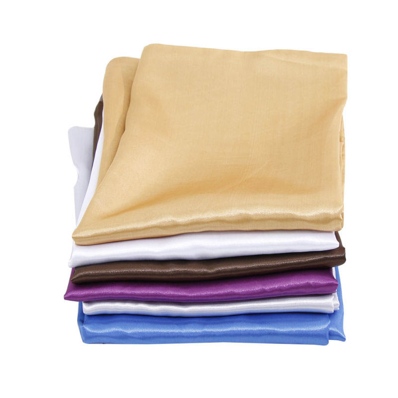 us stock solid silk pillow case cushion cover pillowcase standard queen size qlb ebay. Black Bedroom Furniture Sets. Home Design Ideas