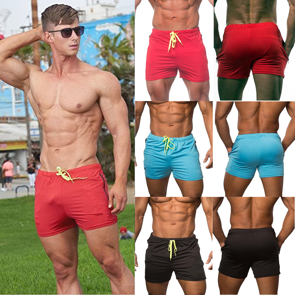 af716629b3 Details about Men's swimwear Sports Gym Run shorts casual summer beach  pants Board Shorts US