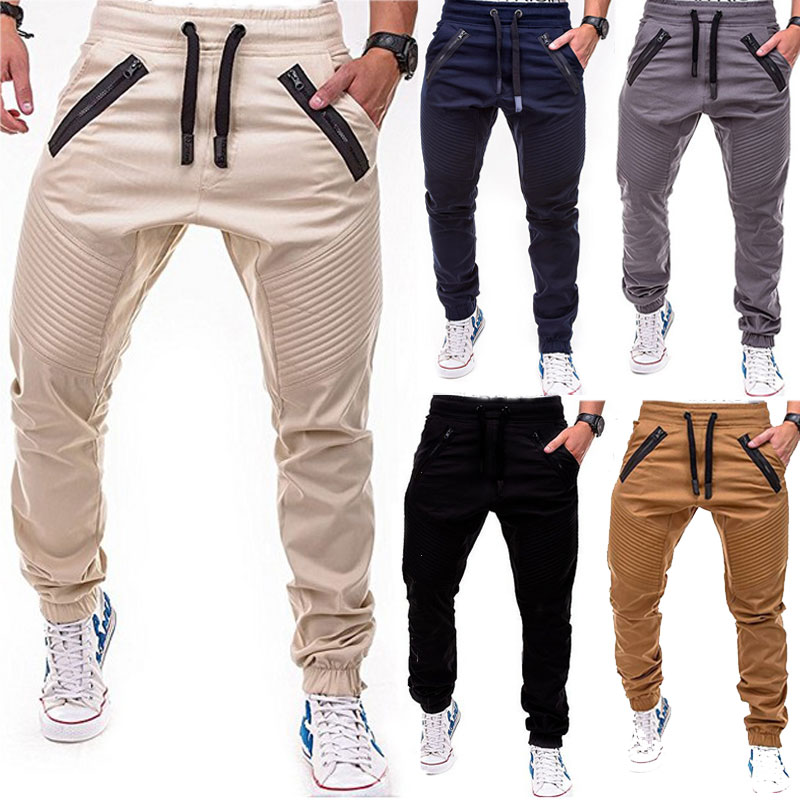 arrives great discount sale release info on Details about Men's Gym Casual Sport Trousers Tracksuit Bottoms Skinny  Joggers Sweat Pants